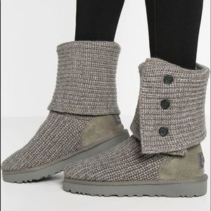 Grey Classic Cardy Ugg Boot